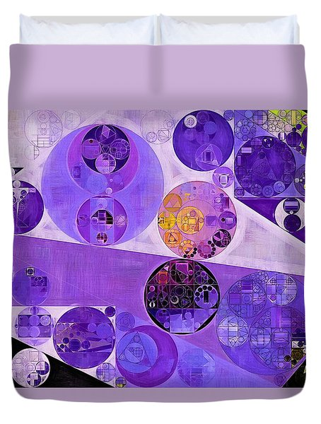 Abstract Painting - Blackcurrant Duvet Cover