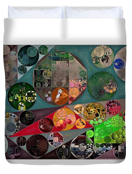 Abstract Painting - Chicago Duvet Cover by Vitaliy Gladkiy