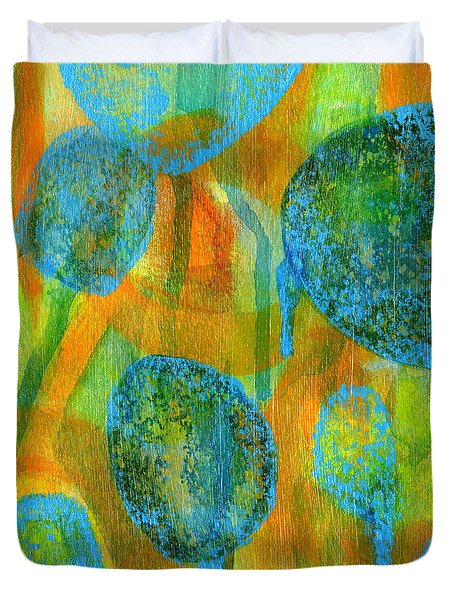 Abstract Painting No. 1 Duvet Cover