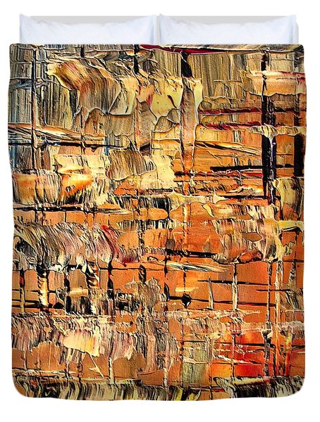Abstract Part By Rafi Talby Duvet Cover by Rafi Talby