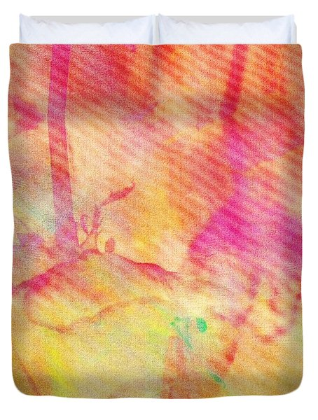 Duvet Cover featuring the photograph Abstract Photography 003-16 by Mimulux patricia no No