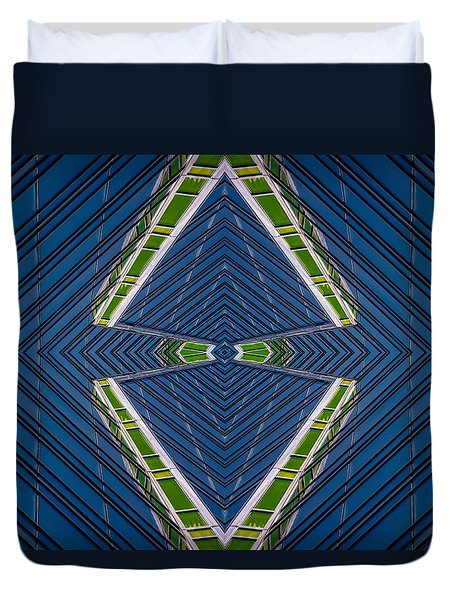 Abstract Photomontage No.10 Duvet Cover