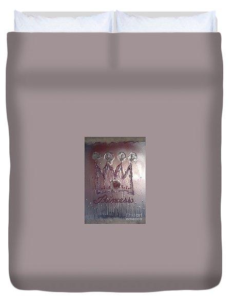 Abstract Princess Dreams Of Grandeur Duvet Cover