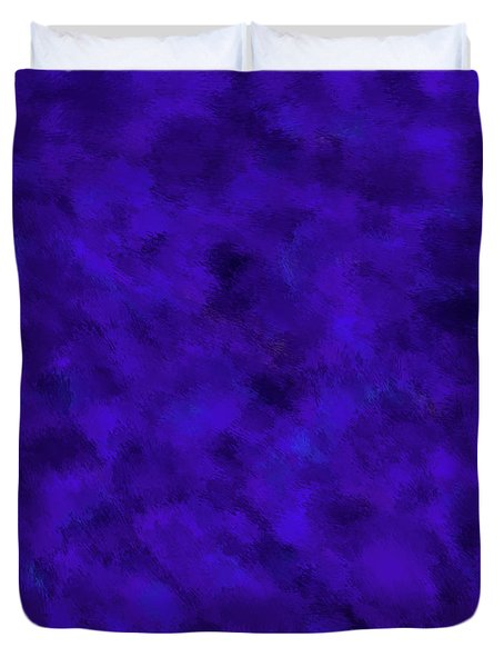 Duvet Cover featuring the photograph Abstract Purple 7 by Clare Bambers