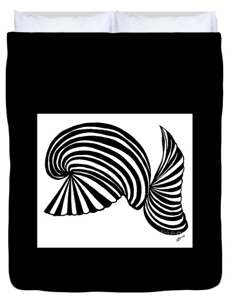 Abstract Rd117 Duvet Cover