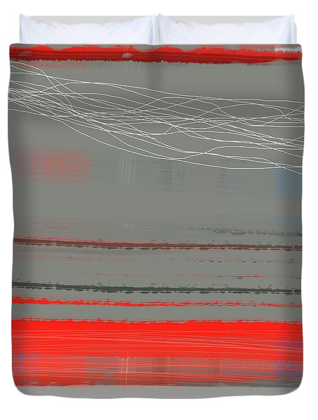 Abstract Red 2 Duvet Cover