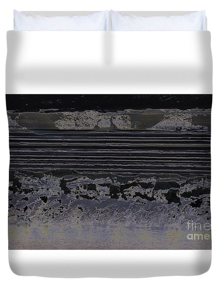 Abstract Ripples Duvet Cover