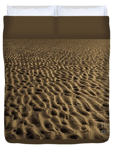 Abstract Sand Duvet Cover