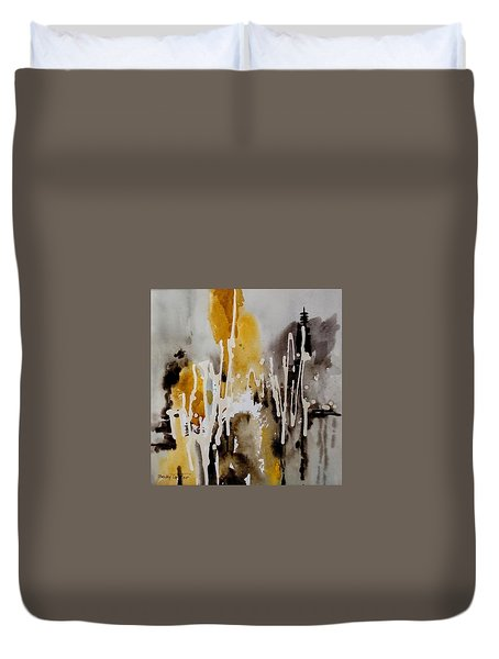 Abstract Scene Duvet Cover