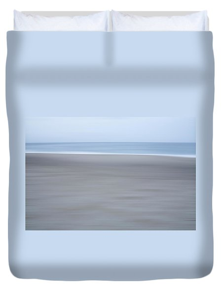Abstract Seascape No. 10 Duvet Cover
