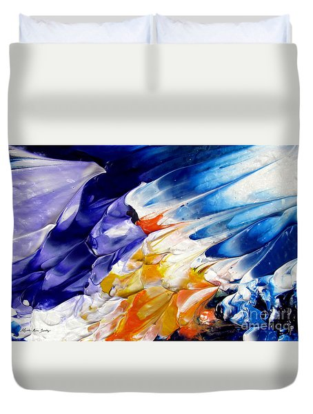 Abstract Series 0615a-4-l1 Duvet Cover