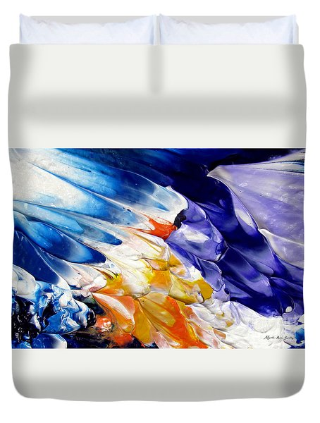 Abstract Series 0615a-4-l2 Duvet Cover