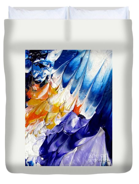 Abstract Series 0615a-6p1 Duvet Cover