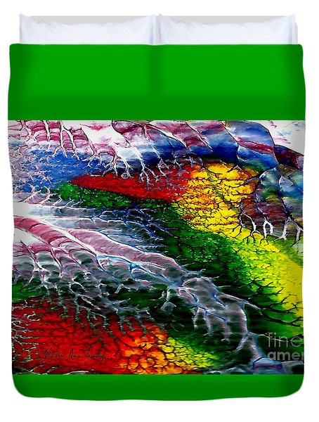 Abstract Series 0615a Duvet Cover