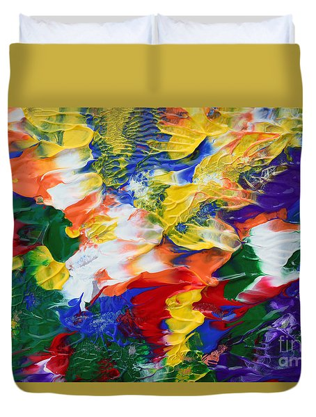 Abstract Series A1015al Duvet Cover