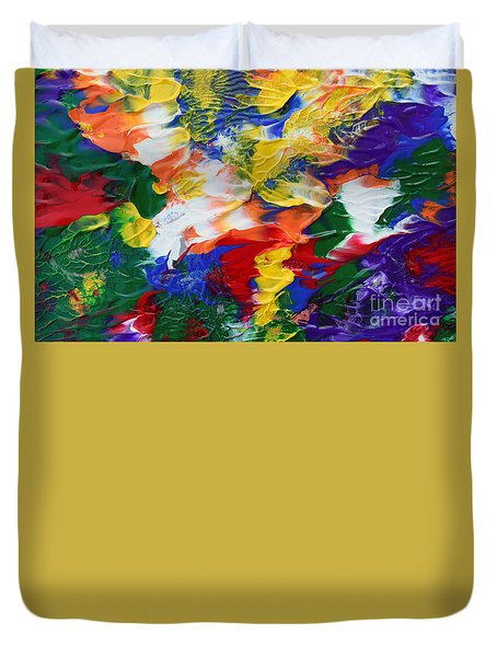 Abstract Series A1015ap Duvet Cover