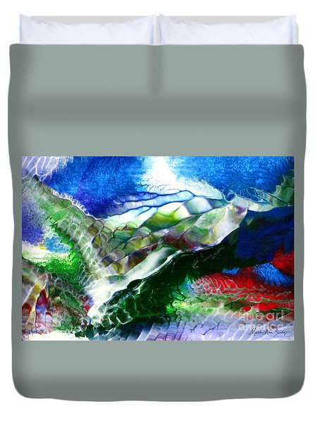 Abstract Series B Duvet Cover