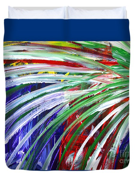 Abstract Series C1015bl Duvet Cover