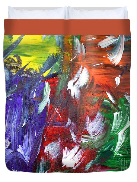 Abstract Series E1015al Duvet Cover