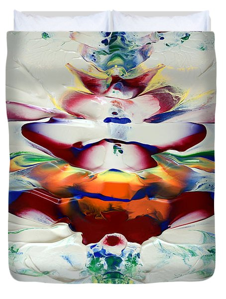 Abstract Series H1015al Duvet Cover