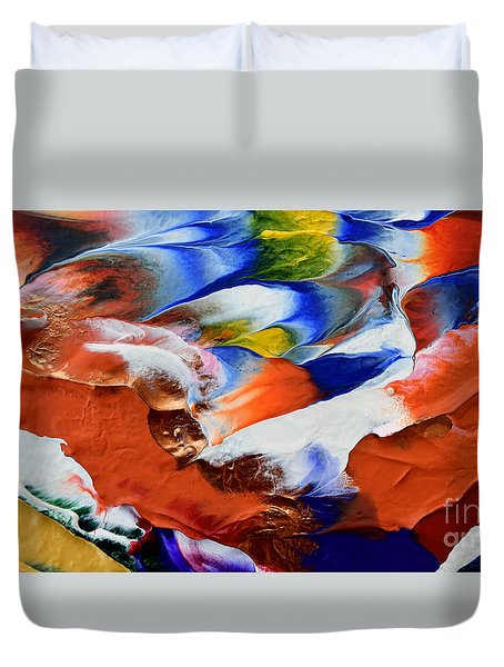 Abstract Series N1015al  Duvet Cover