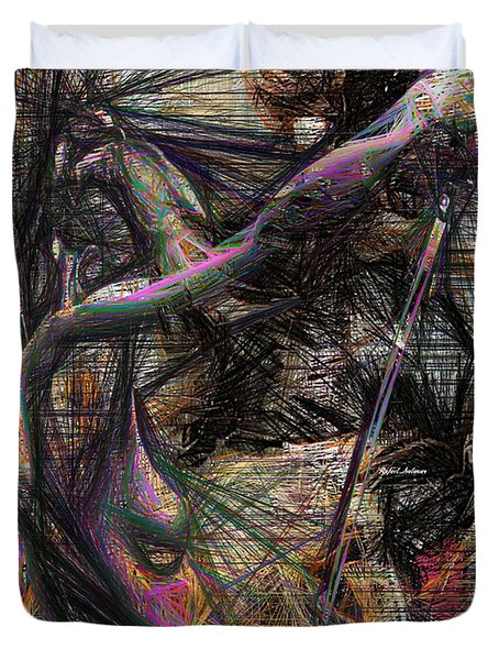 Abstract Sketch 1334 Duvet Cover