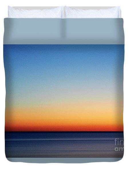 Abstract Sky Duvet Cover by Tony Cordoza