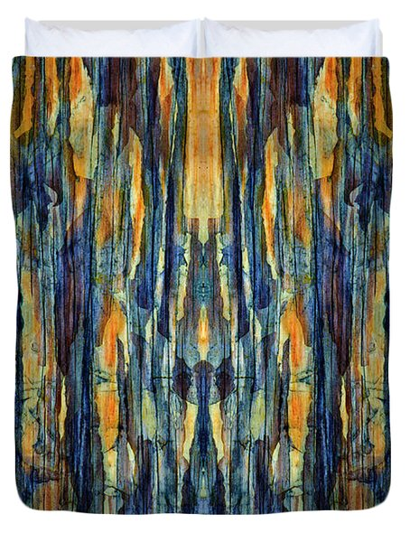 Abstract Symmetry I Duvet Cover