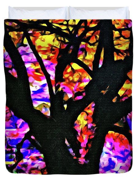 Abstract Tree 304 Duvet Cover