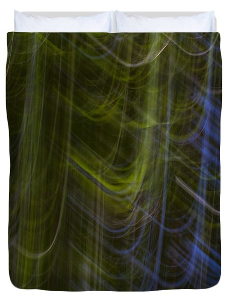 Abstract Trees 2 Duvet Cover