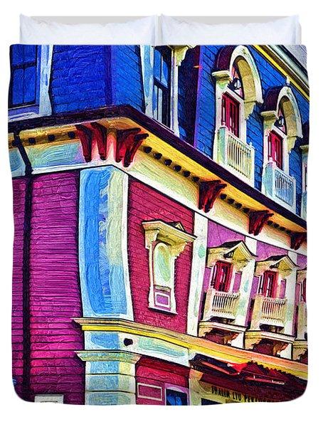 Abstract Urban Duvet Cover