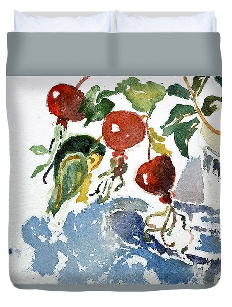 Abstract Vegetables 2 Duvet Cover