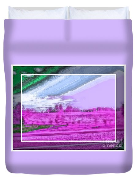 Abstract View Duvet Cover