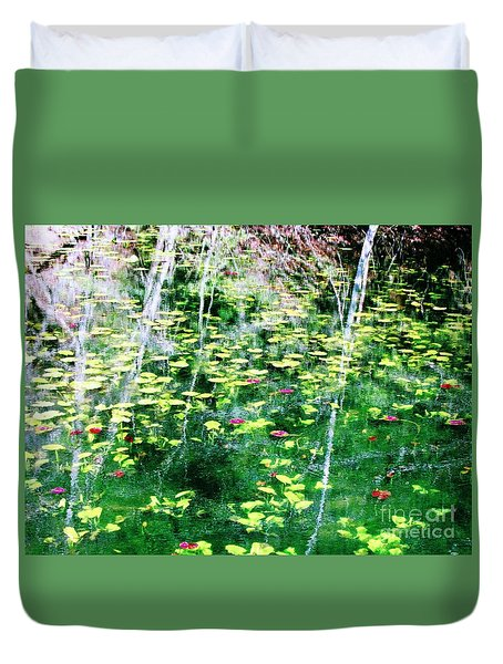 Abstract Water Duvet Cover