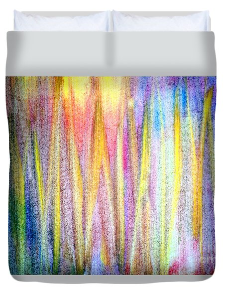 Abstract Watercolor A2 1216 Duvet Cover