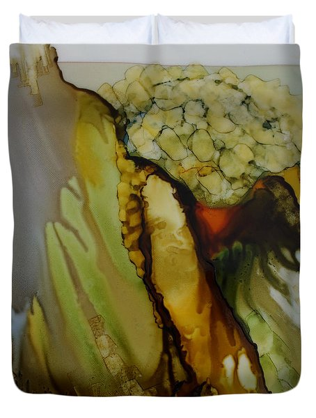 Abstract X Duvet Cover