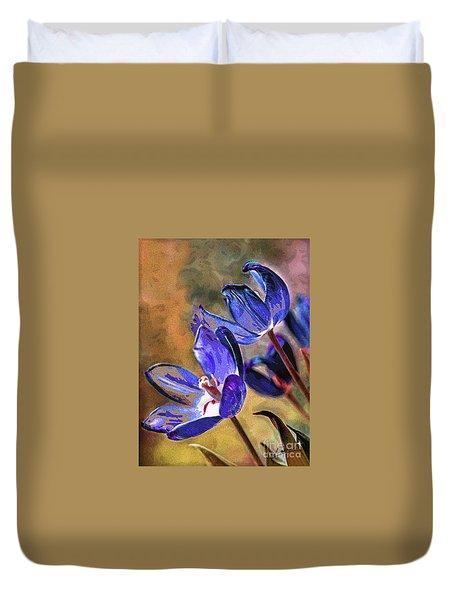 Abstracticus Tuliptimus Duvet Cover