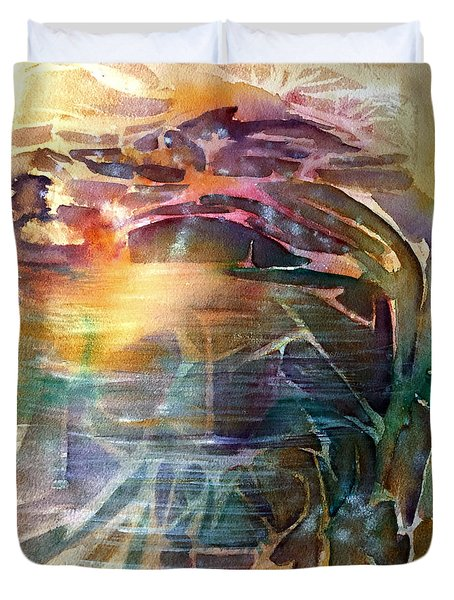 Cavern Travel Duvet Cover