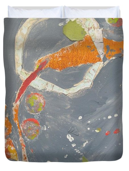 Abstraction #1 Duvet Cover