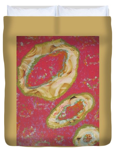 Abstraction #9 Duvet Cover