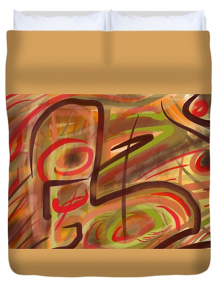 Abstraction Collect 2 Duvet Cover