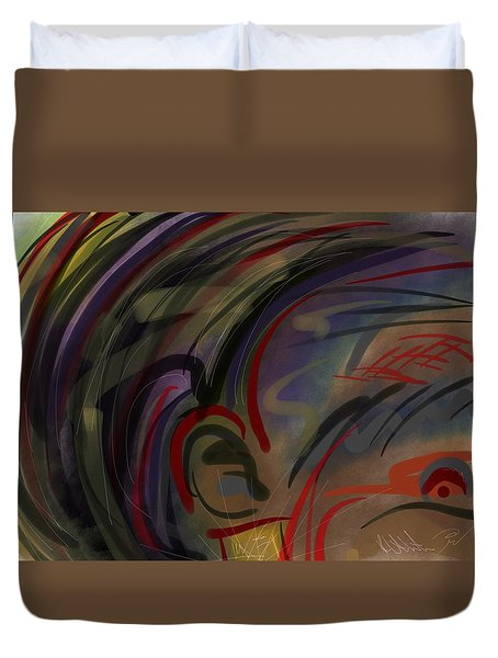 Fro Abstraction 2 Duvet Cover