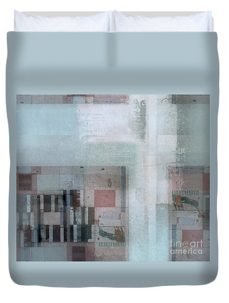 Duvet Cover featuring the digital art Abstractitude - C7 by Variance Collections