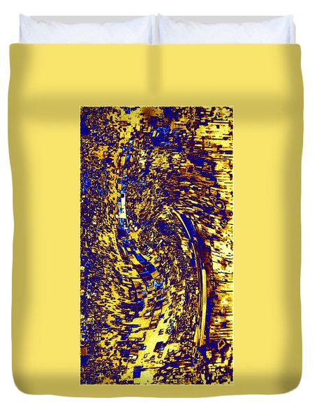 Abstractmosphere 3 Duvet Cover by Will Borden