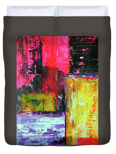 Abstractor Duvet Cover by Everette McMahan jr