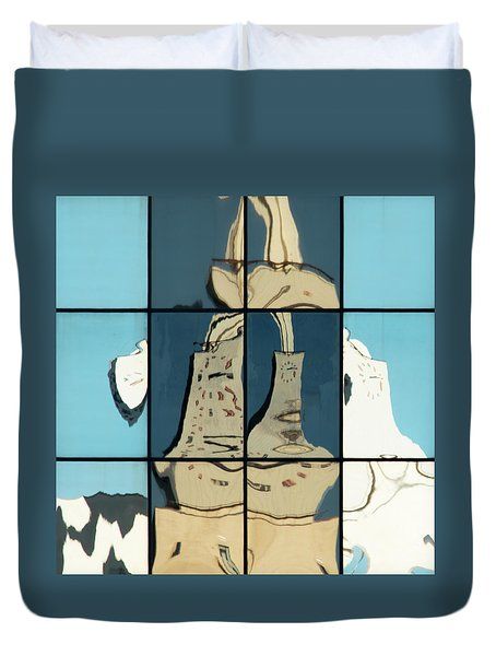 Abstritecture 17 Duvet Cover