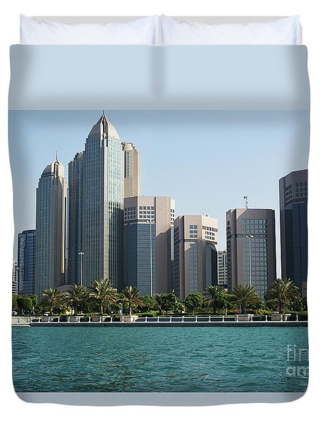 Abu Dhabi Duvet Cover by Hanza Turgul