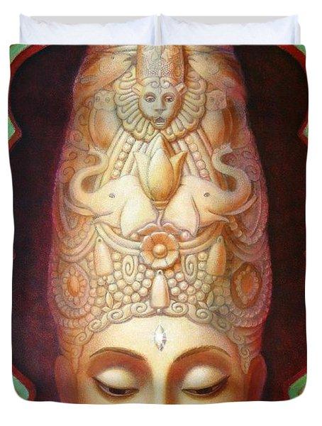 Abundance Meditation Duvet Cover