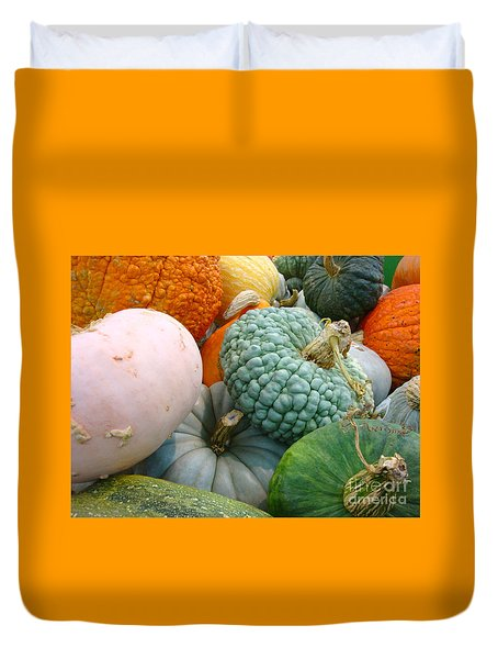 Abundant Harvest Duvet Cover by Cathy Dee Janes