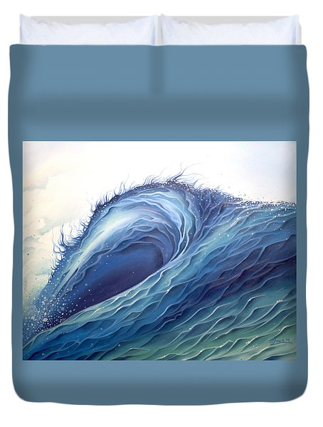 Abyss Duvet Cover by William Love